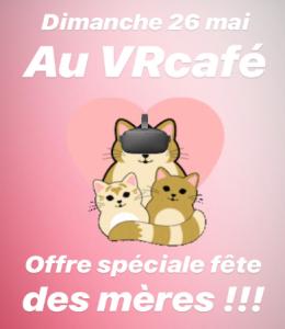 La Fête des mères au VR Café @ VR Café | Bordeaux | Nouvelle-Aquitaine | France